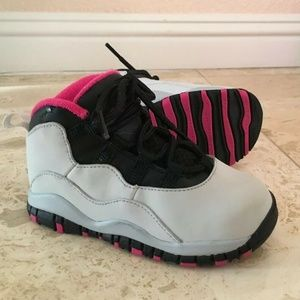 Jordan 10 Retro Toddler Shoes 8C